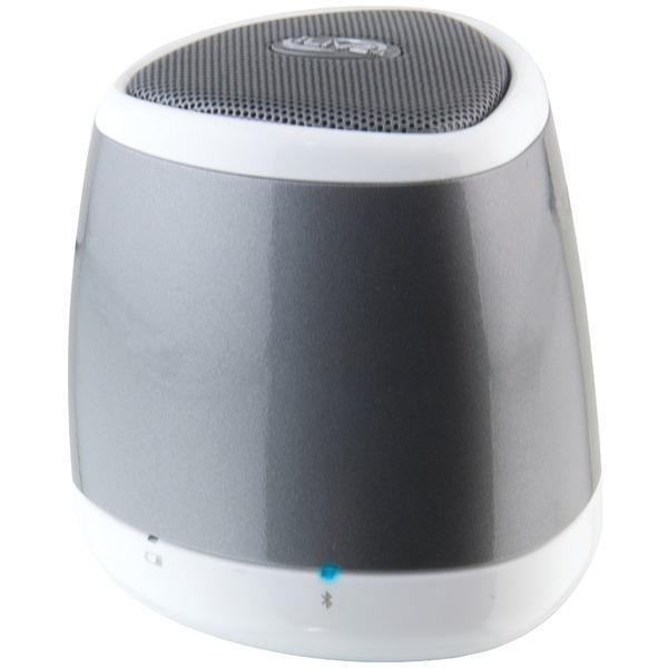 Ilive blue isb23s portable bluetooth speaker silver with for Ilive bluetooth speaker