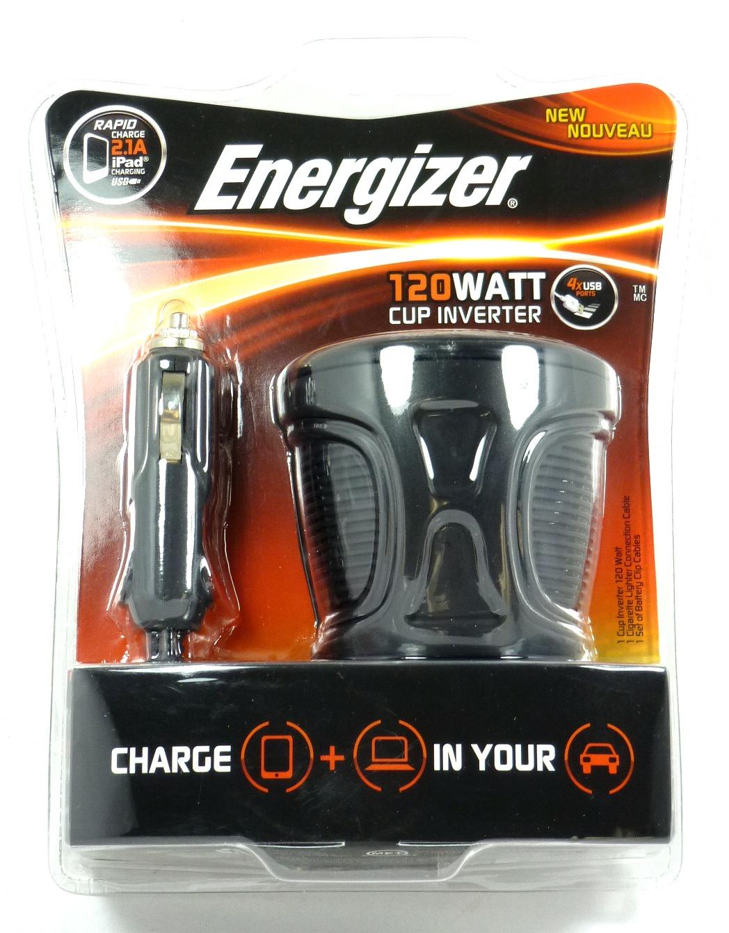 ... EN120 12 Volt Cup Power Inverter 120 Watt Car 12V DC 120 V AC | eBay